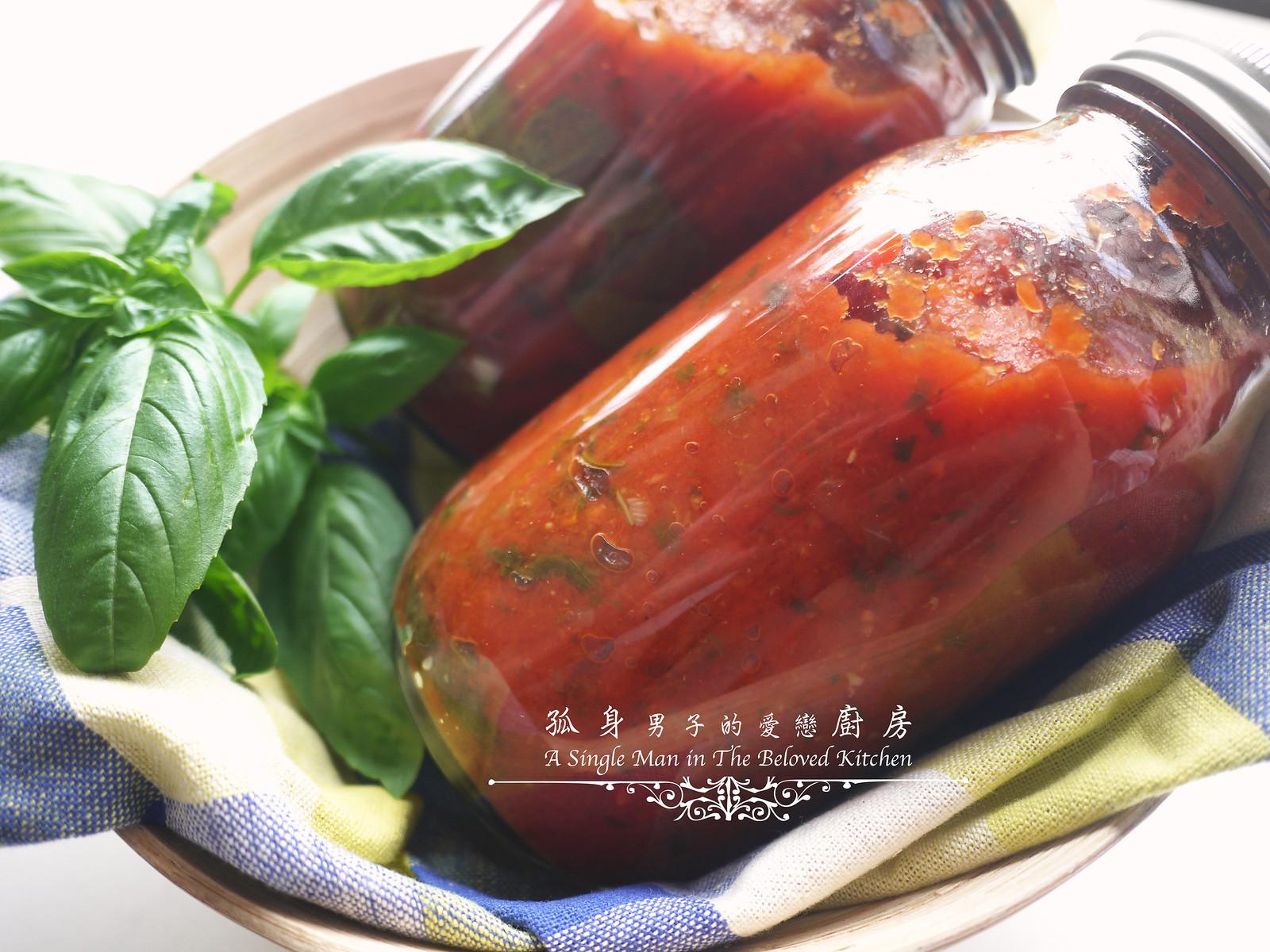 孤身廚房-義大利茄汁紅醬罐頭--自己的紅醬罐頭自己做。不求人31
