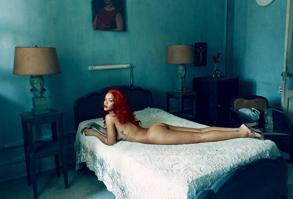 Рианна — Фотосессия для «Vanity Fair» 2015 – 4