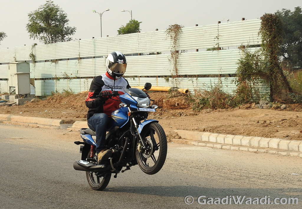 Honda CB Shine Sp test ride review-9