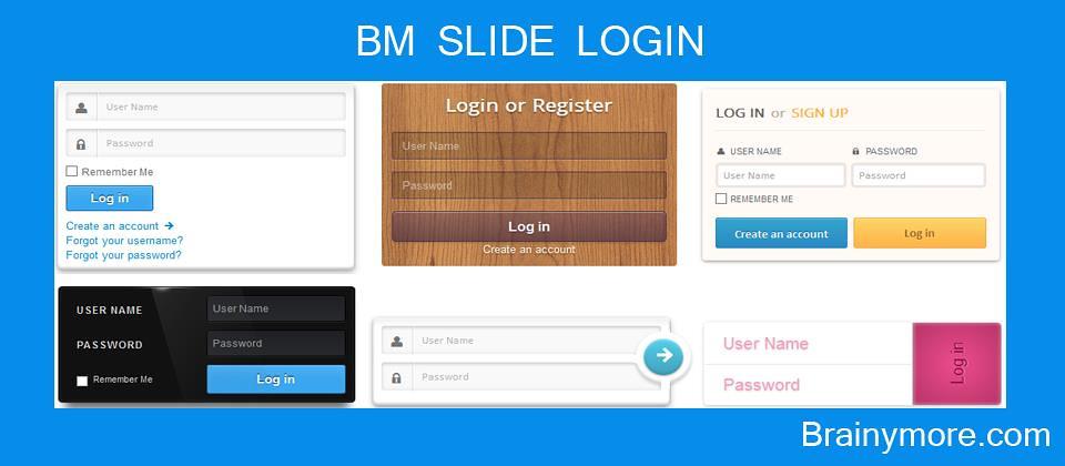 BM Slide Login