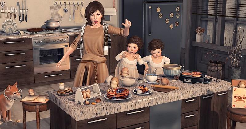 Amelie et les petites: little helpers