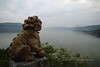 Yangtze, Shibaozhai, view over the Yangtze river