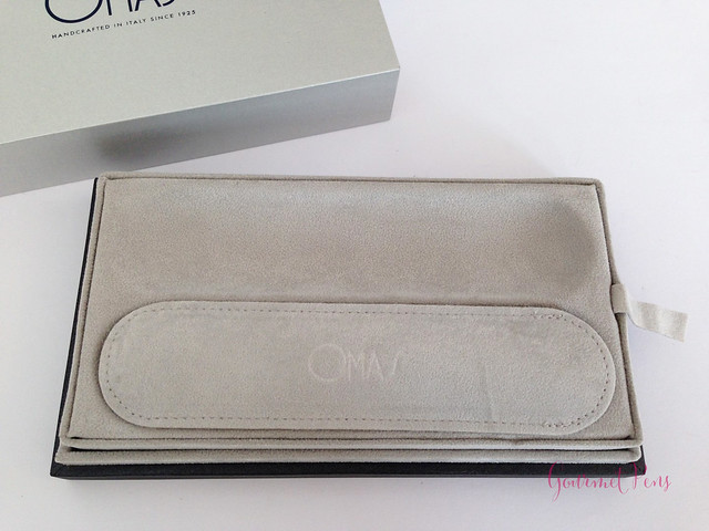 Review Omas Ogiva Cocktail Fountain Pen - Stub @Omas_Official (3)