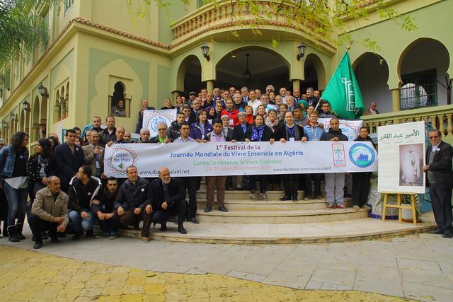 1er Festival de la Journée Mondiale du Vivre Ensemble en Algérie Contre la violence, le vivre ensemble 25 Novembre 2015