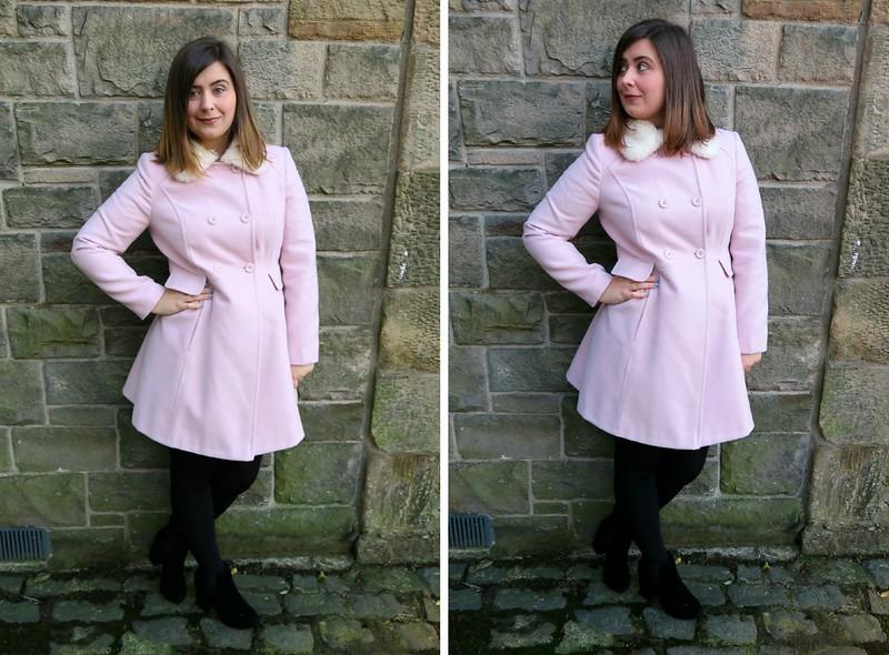 uk scottish fashion blogger black friday winter miss selfridge princess coat