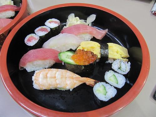 中山競馬場の和可奈の上寿司