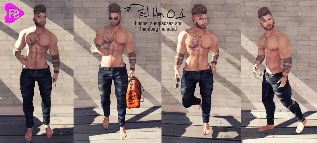 [Frimon Store] #Pack Men 01 HUD - SecondLifeHub.com