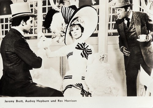 Audrey Hepburn, Jeremy Brett and Rex Harrison in My Fair Lady (1964)