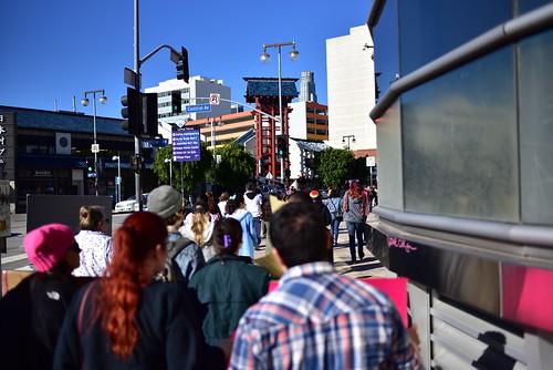 LA Women's March '17