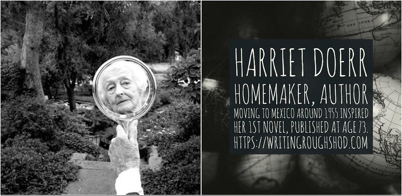 HARRIET DOERR #100travelHERS