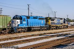 EMDX 6306 | EMD SD40-2 | CSX Leewood Yard