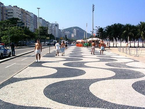 PRAIA DE COPACABANA - Rio de Janeiro - Brasil Praia de Copacabana Beach  #COPABACANA