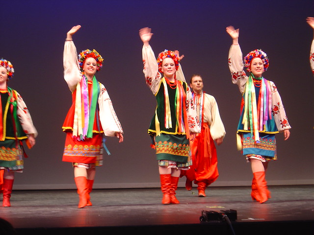 Ukrainian folk dance concertUkrainian Everyday Clothing