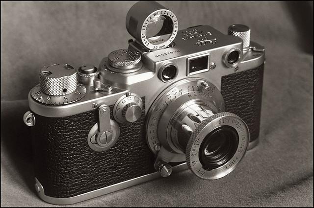 Leica IIIf, elmar 3,5/50