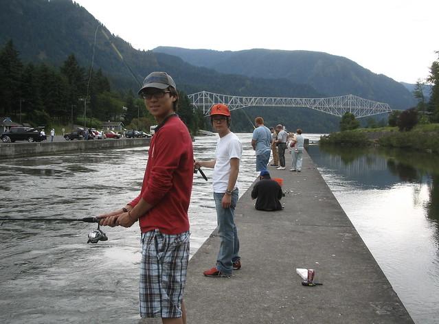 Fishing flickr photo sharing for Bonneville dam fish camera