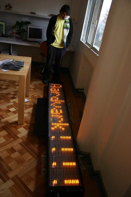 LED gigante en Aardvark