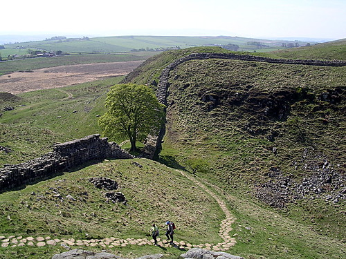 Sycamore Gap from Mons Fabricius