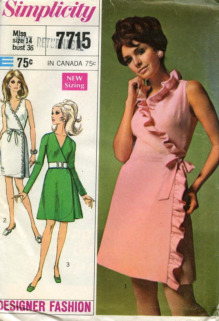 how to make a vintage dress patterns