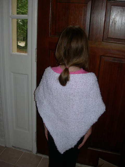 Bailey's knitted shawl #1