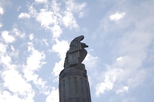 Eagle Statue Side