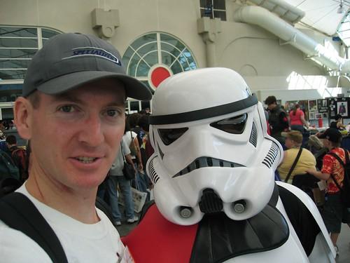 Comic Con 2006   Stormtrooper and I