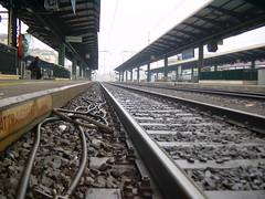Estación de tren italiana.