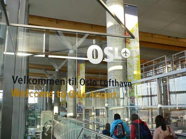 welcome to Oslo Airport