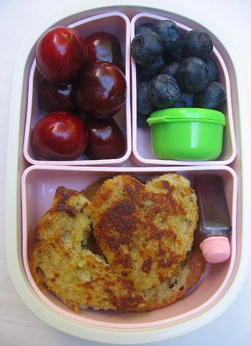 French toast bento for toddler