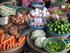 The market in hoi an