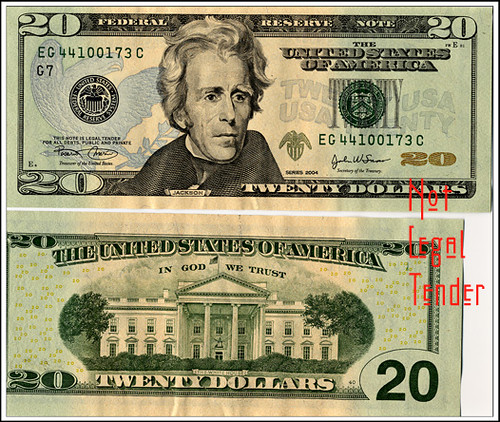 faces on us paper money