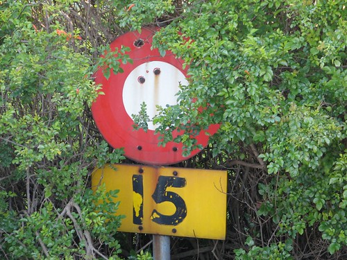 Old Street Sign, Pinelands, Cape Town
