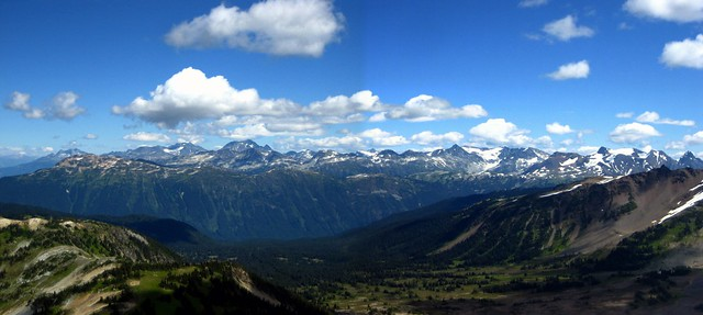 View of Whistler Mountain