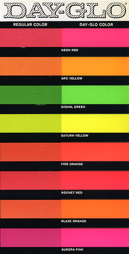 Day-glo Paints ad