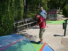 outdoor play equipment(0.0), playground(0.0), play(1.0), recreation(1.0), outdoor recreation(1.0), leisure(1.0), miniature golf(1.0),