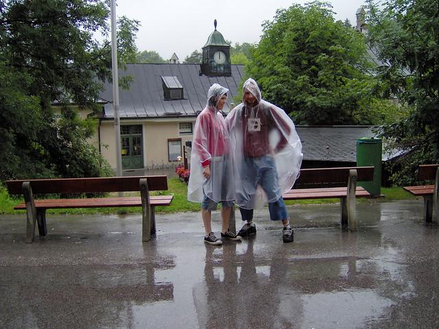 Ponchos para la lluvia