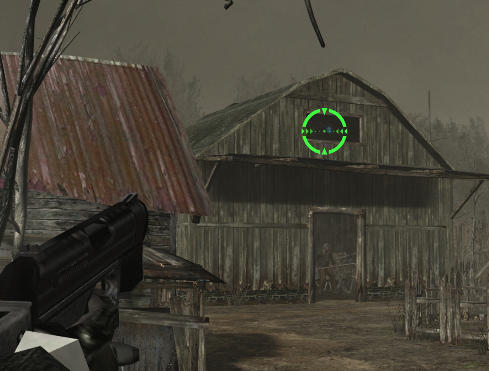 Resident Evil 4 Wii Edition High-Res Textures