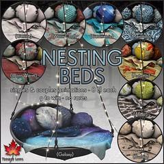 Trompe Loeil - The Arcade September 2015 Nesting Beds