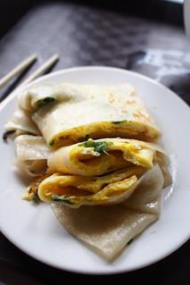 Egg Prata Taiwanese Style