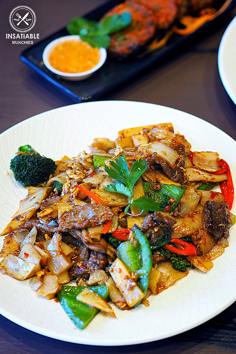 Sydney Food Blog Review of Wok On Inn, Zetland: Uncle's Drunken Noodles,