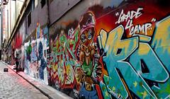 Hosier Lane Melbourne.
