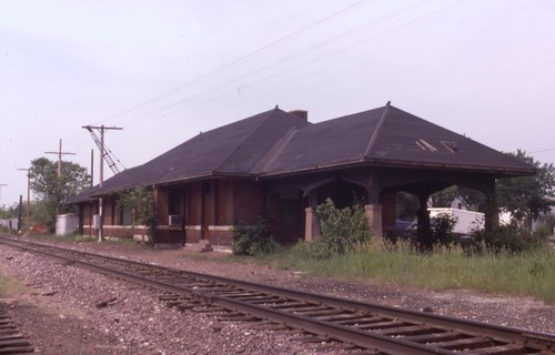 wisconsin depot omaha ricelake cnw chicagonorthwestern ricelakewi
