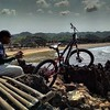 photo by: @galuhidzal #Pacificbikerider #softtail #sepeda...