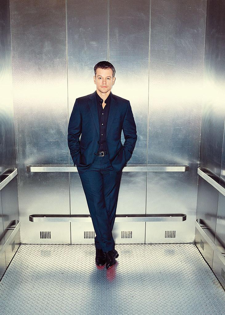 Мэтт Деймон — Фотосессия для «The Hollywood Reporter» 2015 – 1