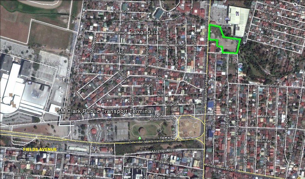 1 Hectare Commercial Lot for Sale Angeles City – Dau Border Ref# 0000708