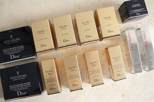 dior holiday 2015 state of gold eyeshadow swatches and review