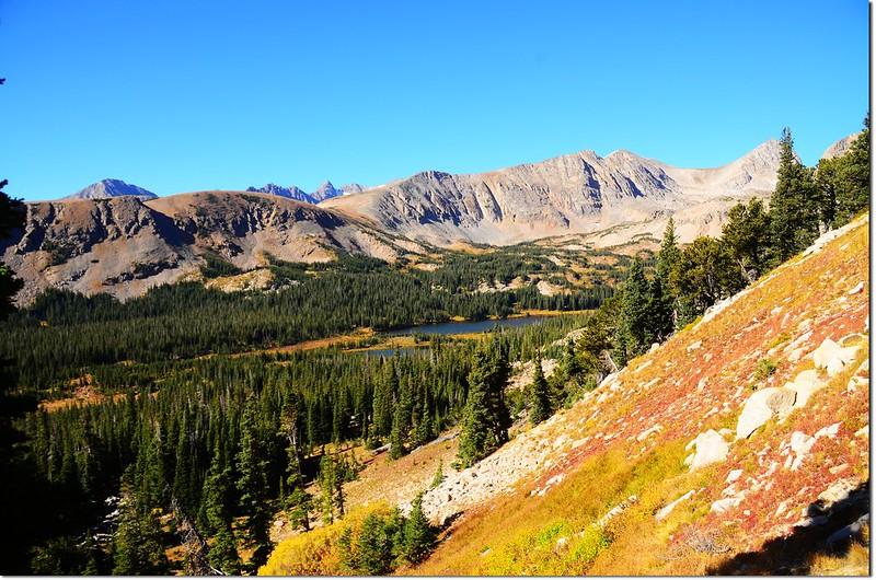Mitchell Lake from the Mount Audubon Trail 1