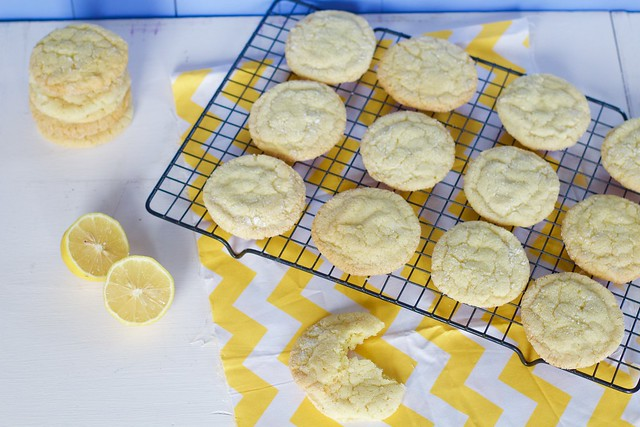 Lemon Sugar Cookies