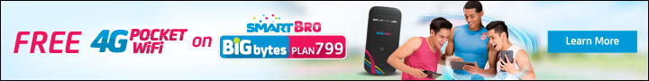 Smart Bro Prepaid Pocket Wifi