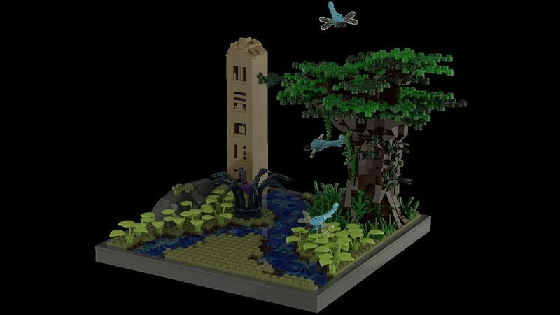 [MOC] Un environnement pour Lewa 21921656163_58dacf6fd6_c