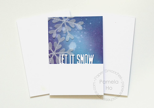 Paper Smooches - Let It Snow dies